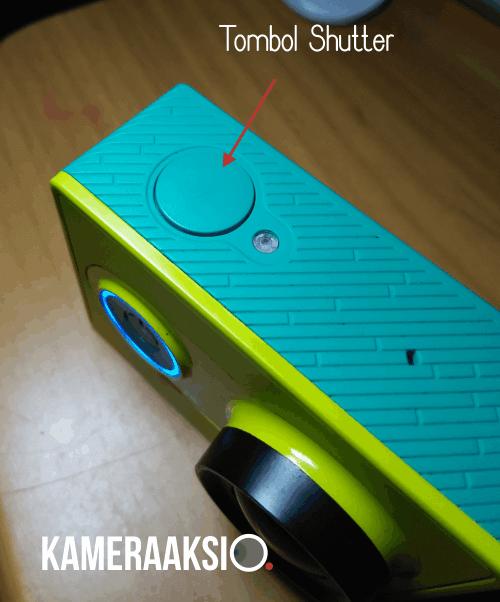 Fungsi 3 Tombol Pada Xiaomi Yi Action Camera