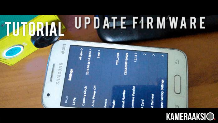 Cara Update Firmware Yi Action Camera