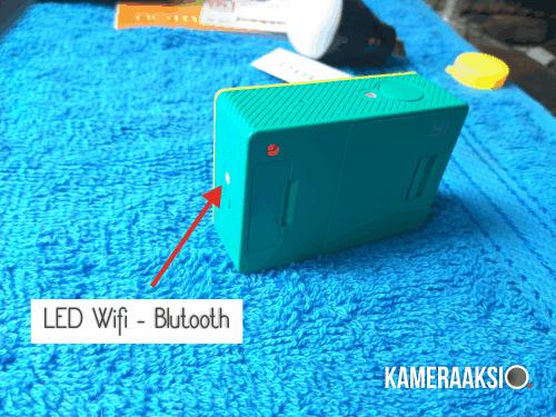 Arti LED Lampu Xiaomi Yi Action Camera