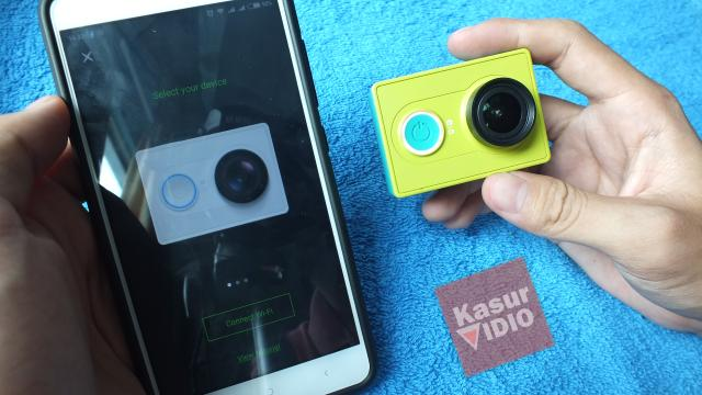 Cara Menyambungkan Xiaomi Yi Action Camera ke Smartphone Android