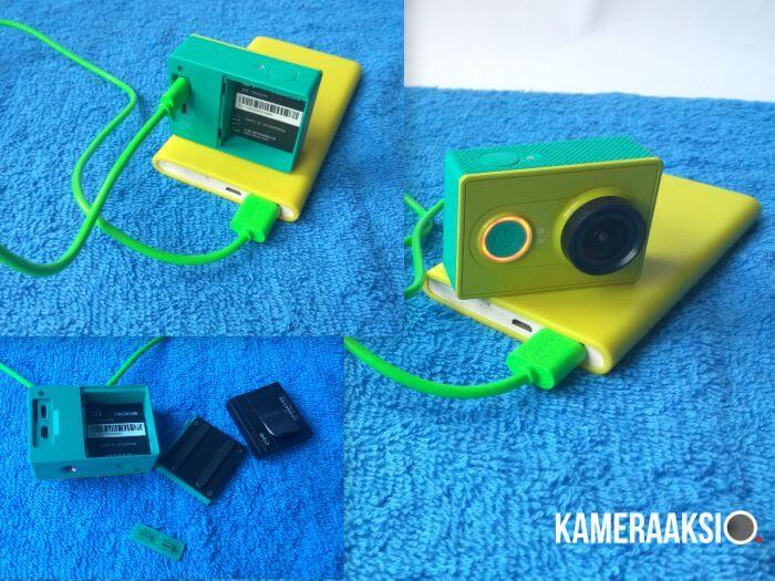 Tips Yi Camera Pake Powerbank Tanpa Battery