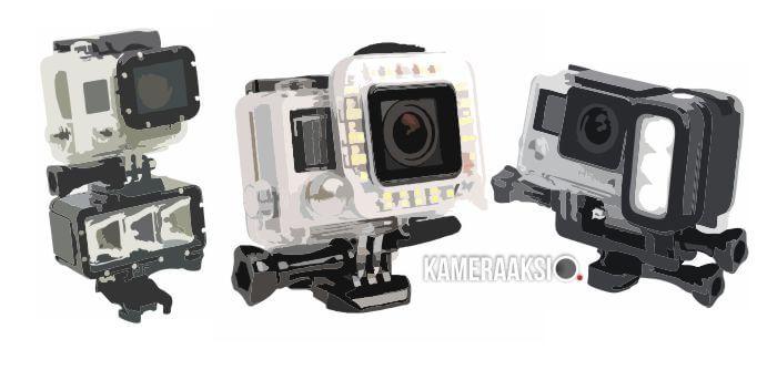 Aksesoris Lampu LED untuk Action Camera