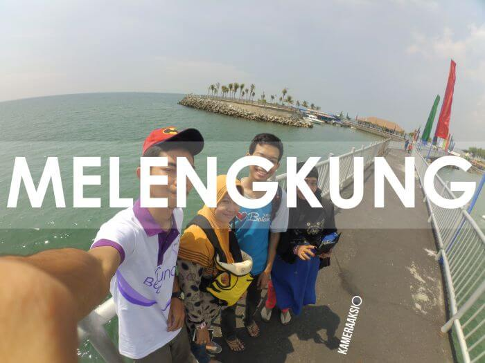 Hasil Foto Action Camera Kurang Wide Fisheye Melengkung