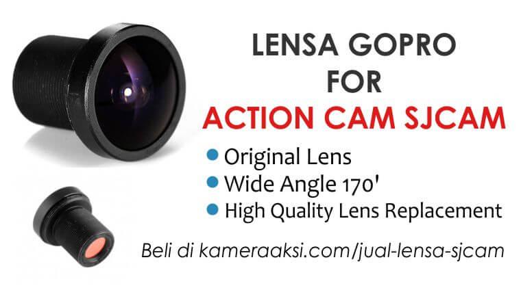 Jual Lensa Gopro untuk SJCAM