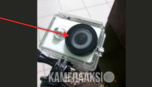 Cara Memasang Anti Fog di Action Camera Waterproof