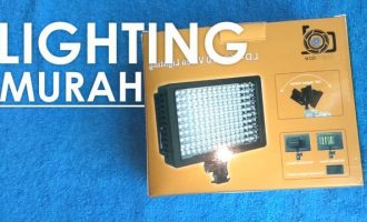 Unboxing dan Review Lighting Video LD160 LED