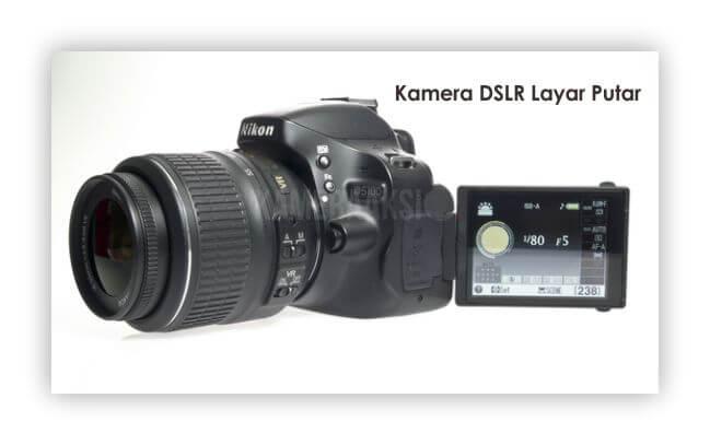 Kamera DSLR Layar Putar Nikon 5100 Kameraaksi