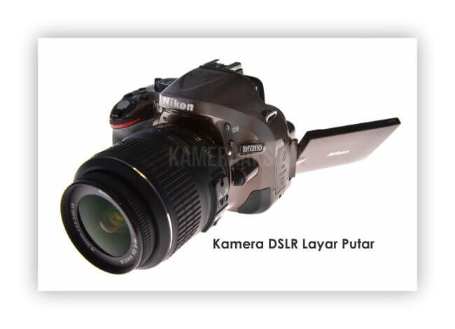 Kamera DSLR Layar Putar Nikon D5200 Kameraaksi