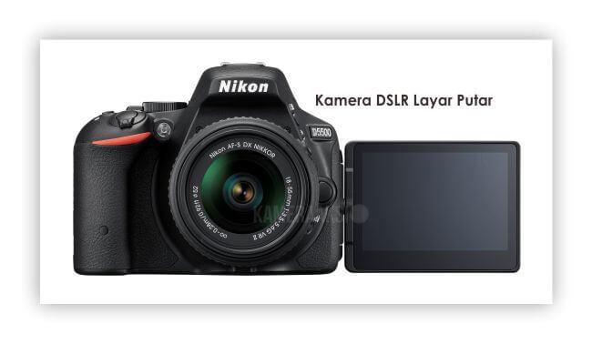 Kamera DSLR Layar Putar Nikon D5500 Kameraaksi