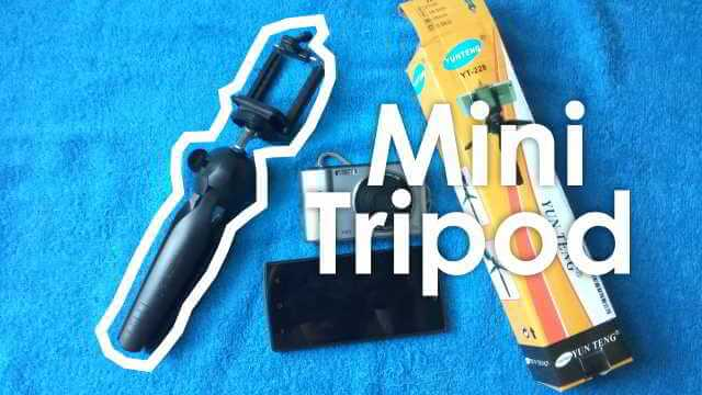 Unboxing dan Review Mini Tripod YUNTENG YT 228