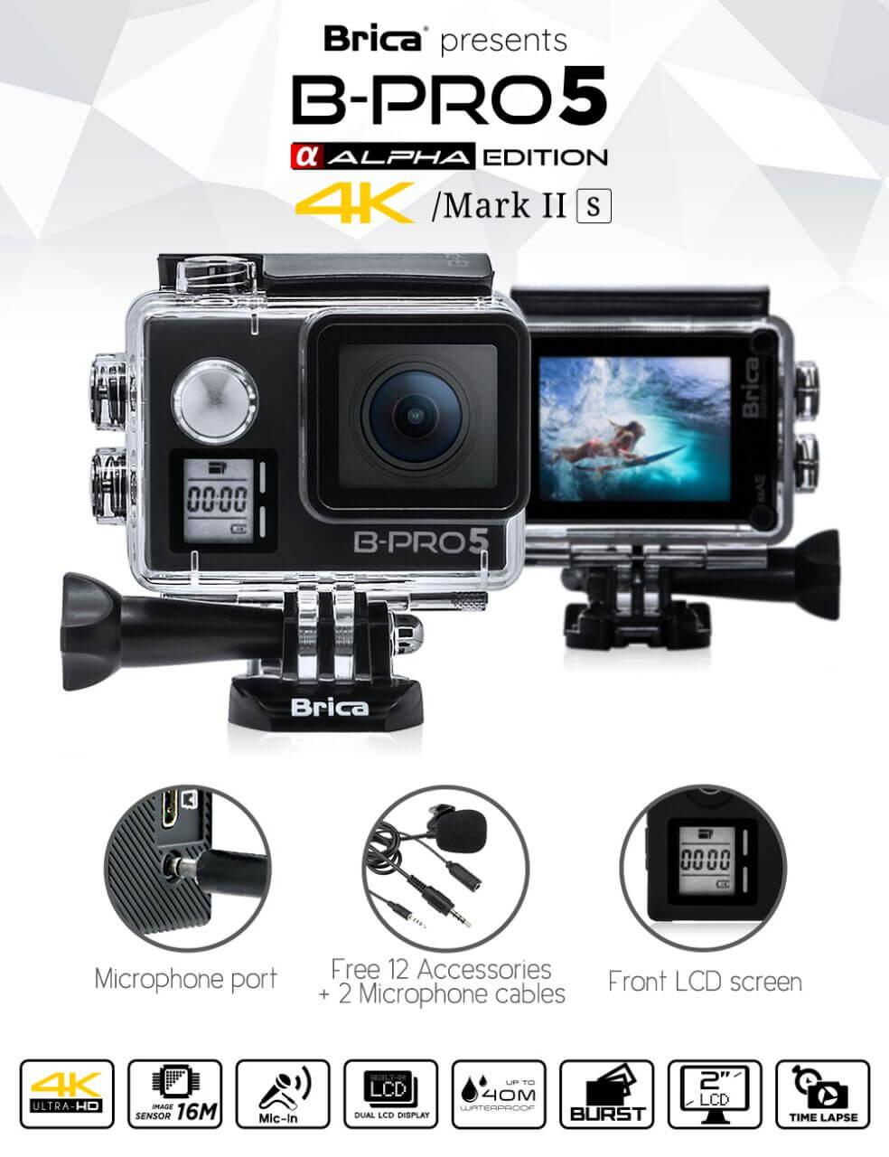 Spesifikasi B-PRO5 Alpha Edition 4k Mark 2s (AE2S) kameraaksi