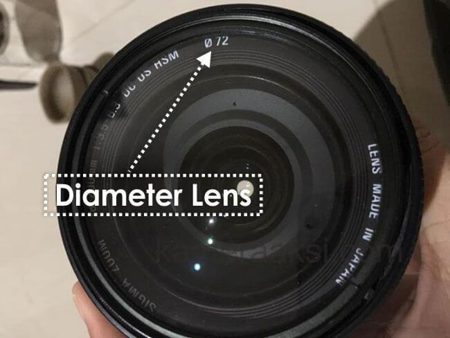 Cara Mengetahui Diameter Lensa Kamera DSLR