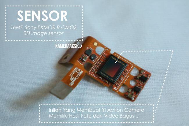 Inilah Bentuk Sensor Camera Xiaomi Yi