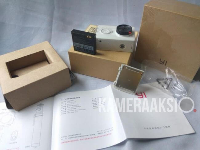 Inilah Xiaomi Yi International Dus Coklat