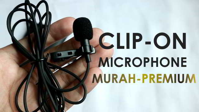 Review Microphone Clip On Murah dibawah 100rb