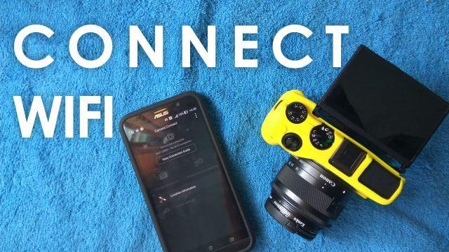 Cara Menyambungkan Canon EOS M3 ke Smartphone
