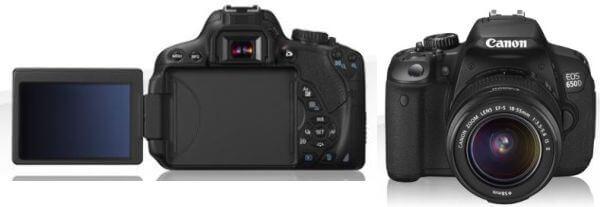 Rekomendasi Kamera DSLR Layar Sentuh 650d