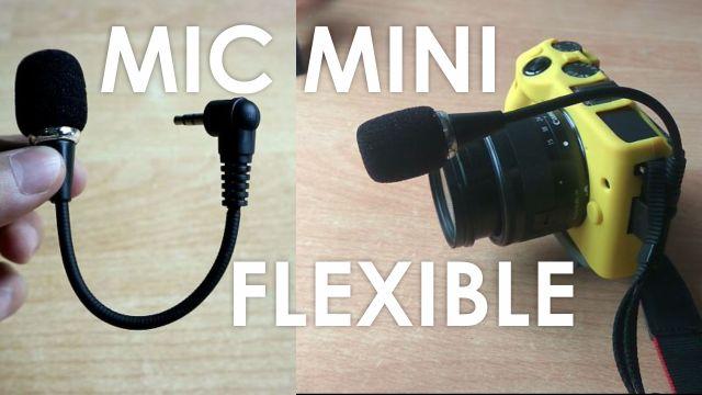 Review Microphone Mini Flexible 3.5mm 16cm
