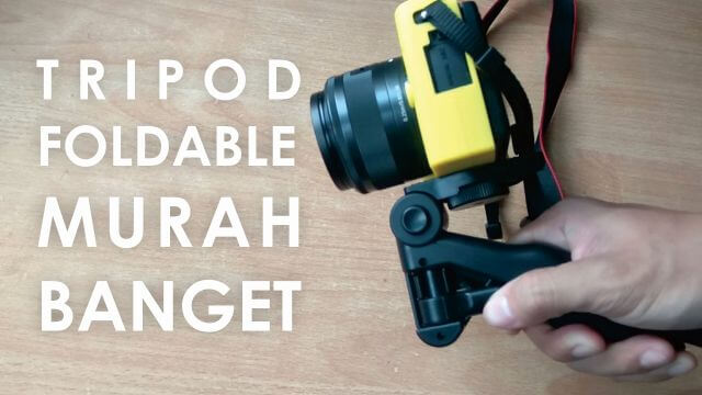 Review Tripod Mini Foldable