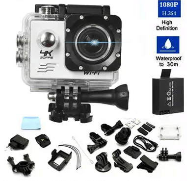Spesifikasi Neo Sport Action Camera Wifi 4k