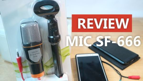 Review Microphone Condenser SF-666