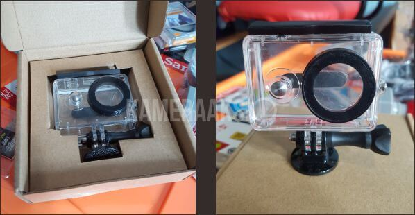 Review Waterproof Xiaomi Yi Action OEM Bcare Kameraaksicom