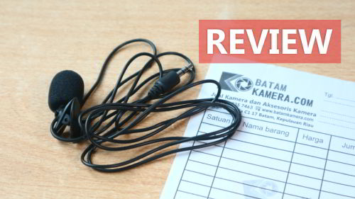 Review Microphone Clip-ON 3.5mm Harga 20ribu