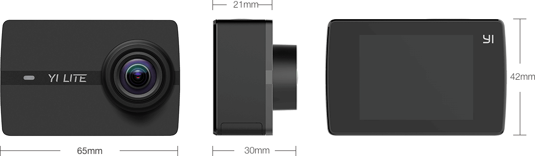 Spesifikasi Yi Lite Action Camera Oleh kameraaksicom