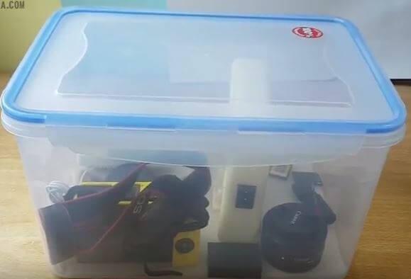 Box Tapperware Box Kedap Udara Murah Untuk Kamera Dry Box DIY