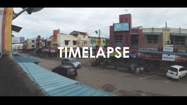 Hasil Timelapse Yi Action Camera 1080P