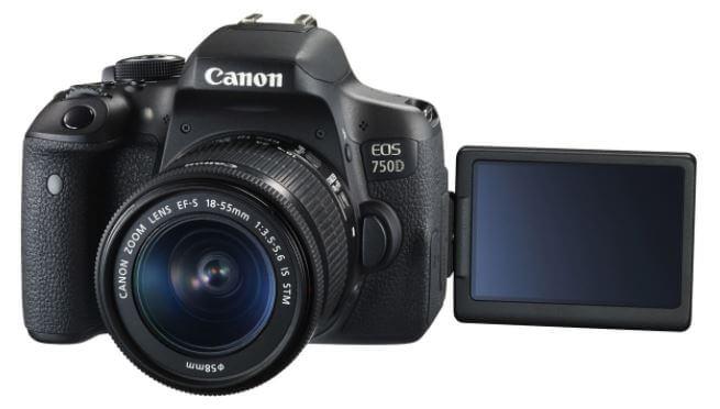 Spesifikasi Canon EOS 750D Terbaru