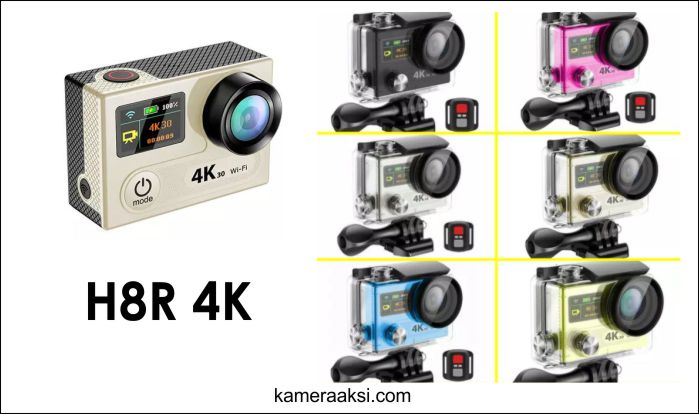 Spesifikasi Action Camera Eken H8R 4K