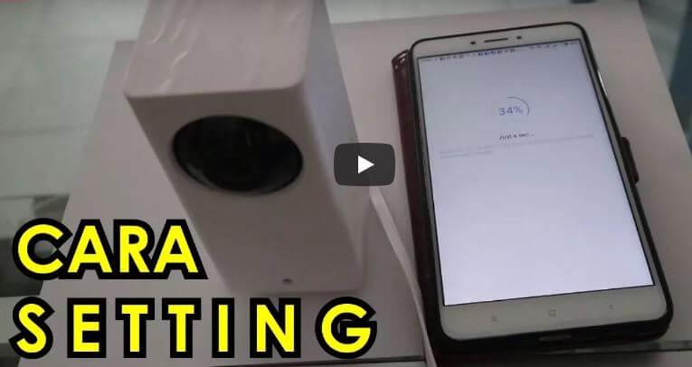 Cara Setting CCTV Xiaomi Dafang Kameraaksi
