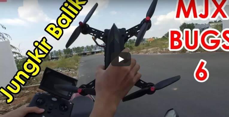 Drone MJX Bugs 6 Indonesia Unboxing dan Tes Terbang