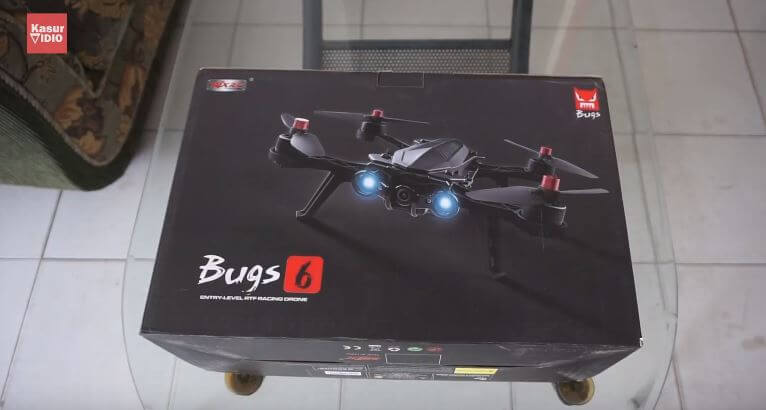 Unboxing Drone MJX Bugs 6 Indonesia