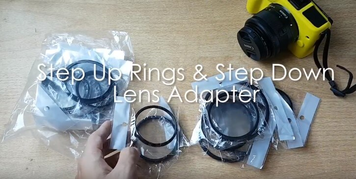 Apa itu Step Up Ring dan Step Down Ring Adapter Lensa Kamera?