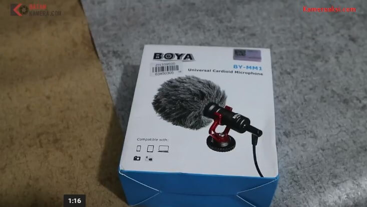 Review Boya BY-MM1 Indonesia