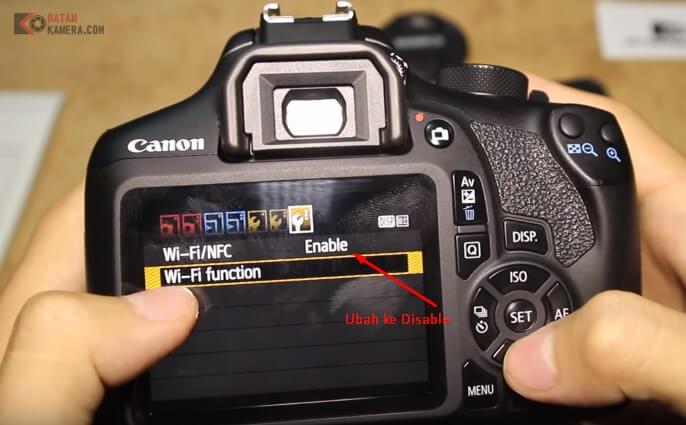 Mengatasi Kabel Data Tidak Terdeteksi Canon 1300d