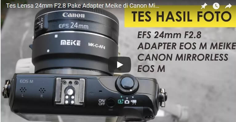 Review Adapter Meike Indonesia