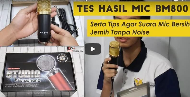 Review Mic Condenser BM800 Indonesia