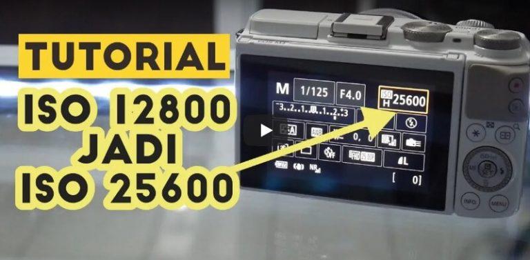 Cara Mengaktifkan ISO Expansion atau ISO 25600 Canon EOS M3 Mirrorless