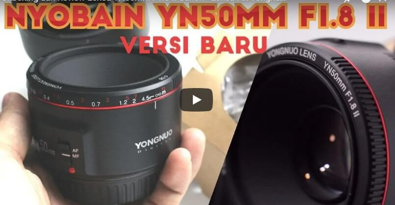 Review Hasil Lensa YN50mm F1.8 Versi Indonesia