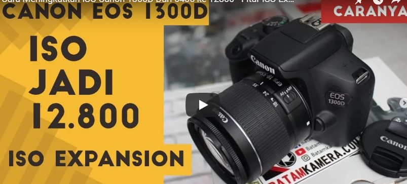 Tutorial ISO Canon 1300D