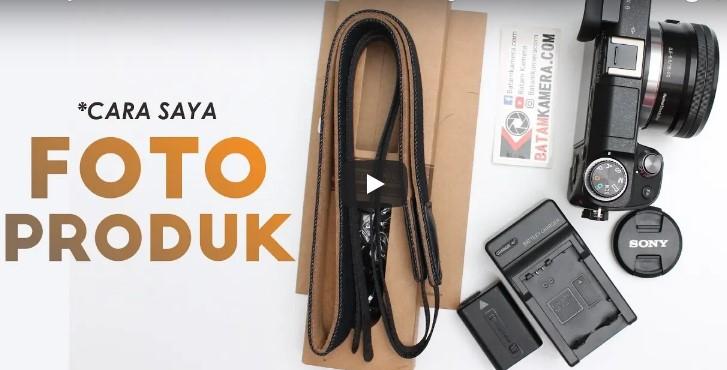Cara Foto Produk Low Budget Indonesia