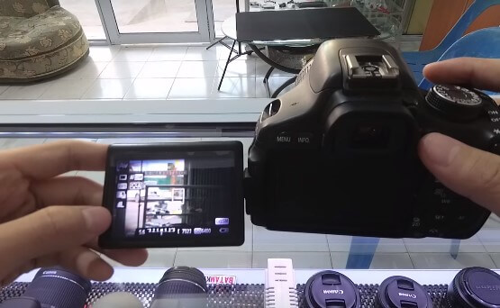 Cara Memperbaiki LCD Kamera Vignette