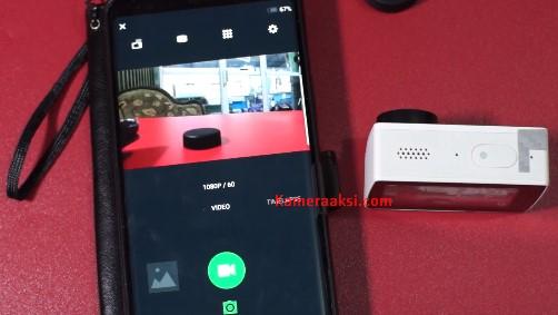 Cara Menggunakan Wifi Yi 4K Action Camera