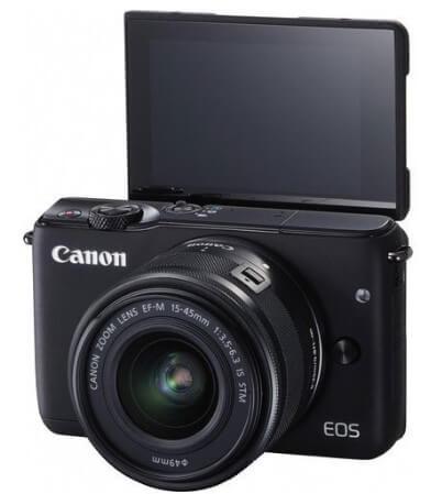 Kamera canon eos m10
