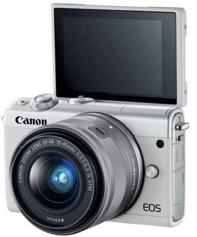 Kamera Mirrorless Canon M100 Kameraaksi.com