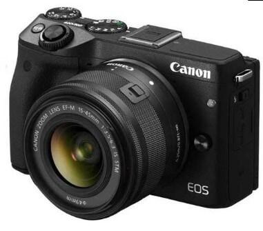 Kamera Mirrorless Canon EOS M3 Kameraaksi.com