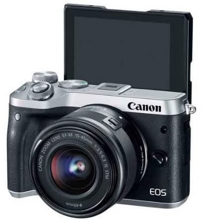 Kamera Mirrorless Canon Bisa Flip LCD